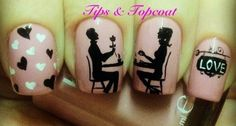 Tips and Topcoat: Romantic Dinner For 2 at the Love Cafe xx