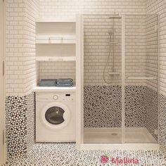 51 modern shower design ideas for your bathroom 14 ~ Best Dream Home Laundry Room Bathroom, Laundry Decor, Bathroom Layout, Bathroom Ideas, Bathroom Remodeling, Bathroom Colors, Bathroom Cabinets, Bath Room, Remodeling Ideas