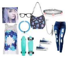 """""""I think I have swag """" by rainbowpoptart-lover ❤ liked on Polyvore featuring beauty, adidas, Muse, Accessorize, Bling Jewelry and Converse"""