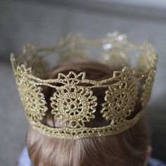 Free King Crown Crochet Pattern : 1000+ images about Knit and crochet crown on Pinterest ...