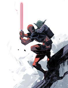 Deadpool Jedi Training - Michael O'Hare