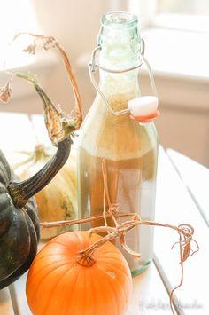 Reckless Abandon: Soy Pumpkin Spice Coffee Creamer