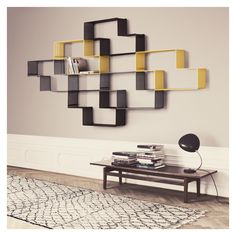 As useful as it is stylish, Matégot's Dedal bookshelf is characterised by its unique 'z' shaped design. £264 each