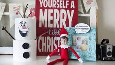 Elf on shelf fun: build your own Olaf