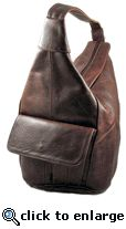 Border Leather RA-11 Handcrafted Leather Sling Bag