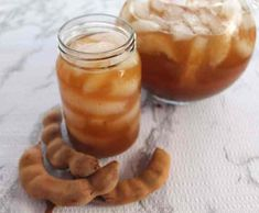 Tamarind Agua Fresca or Tamarind Water is a refreshing drink prepared from the pulp of tamarind pods, water, ice and your sweetener of choice. Tamarind Recipes, Tamarind Fruit, Tamarind Paste, Horchata Drink, Agua Fresca Recipe, Traditional Mexican Food, Eat Lunch, Recipe Notes, Refried Beans