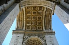 Arc de Triomphe on our Seine River Cruise