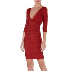 Marcia Open Sleeve Bandage Dress