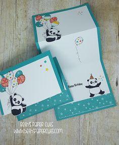 Party Pandas,  Beth's Paper Cuts