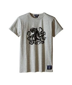26355251fee2 Toobydoo Baby Boys Short Sleeve Graphic TShirt InfantToddlerLittle KidsBig  Kids GreyOctopus Graphic TShirt     Want to know more