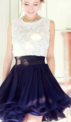 Spring Fashion Trends 2014: billowy skirts and detailed tops
