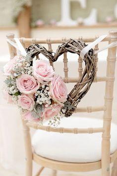 Composition florale cœur