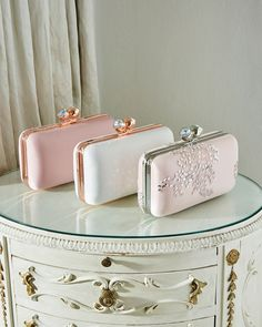 Add the final touches to your wedding look and turn heads with Ted Baker's designer wedding accessories for women; Everything Pink, Cute Bags, Tie The Knots, Bridal Boutique, Bridal Accessories, Wedding Shoes, Wedding Jewelry, Purses And Handbags, Girly Things