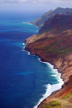 Na Pali coast, Kauai, Hawaii. meganjanephotography.com
