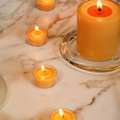 Beeswax Candles, Tea Lights, Tea Light Candles