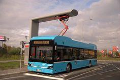#dopravacz Ostrava přichází jako první s ultrarychlým dobíjením elektrobusů Compressed Air, Busses, Diesel Engine, Futuristic, Engineering, Trucks, World, Cars, Future