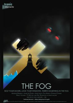 Iconic Moments The Fog Film Poster - Created by Steven Parry - www.stevencparry.co.uk Iconic Movie Posters, Movie Poster Art, Film Posters, The Fog Film, Zombie Movies, Scary Movies, Horror Movie Posters, Horror Films, Comedy Movies