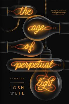 The Age of Perpetual Light by Josh Weil, cover design by Nick Misani Best Book Covers, Beautiful Book Covers, Book Cover Art, Book Cover Design, Lettering, Typography Design, Books And Tea, Typographie Inspiration, Buch Design