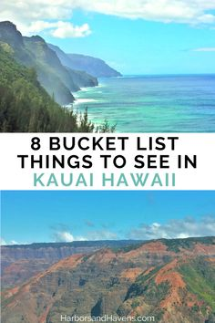Looking for what to do in Kauai Hawaii? This Kauai guide has the best things to do in Kauai Hawaii. Add waterfalls, coastal cliffs and beaches to your Kauai bucket list. #KauaiHawaii #Kauaivacation #Kauaiplanning | what to see in Kauai Hawaii | Napali Coast Kauai Hawaii | Kauai beaches | Kauai hikes Hawaii Vacation Tips, Hawaii Travel Guide, Florida Vacation, Dream Vacations, Best Places To Travel, Cool Places To Visit, Napali Coast Kauai, Kauai Waterfalls, Honeymoon Spots