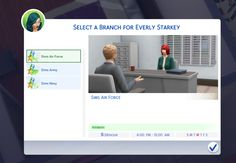Have you ever wanted your Sims to be part of the Military career? Well, now they can with Neia's new Military career mod. Your Sims will have a choice of three paths. Sims Army, Sims Air Force and Sims Navy. You can find the mod here on Mod The Sims. To install the mod, extract …