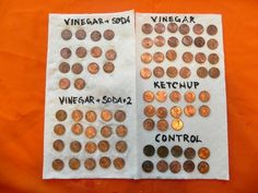 wish I had tried the ketchup before I ruined our souvenir penny collection, well not all were ruined but just some