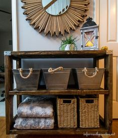 DIY 2 x 4 Cart - Super Easy, all you need are six 2 x 4's and you're set! <3
