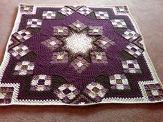 Beyond a Blanket: 10 crochet quilts offered by Crochet Concupiscence