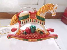 New The Trail of Painted Ponies Horse Ornament Noel Westland