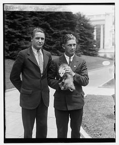 White House Pets: The Adorable And Weird Creatures Keeping U.S. Presidents Company (PHOTOS) Herbert Hoover's oppossum