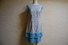 Vintage 1960s Claralura Original Lace & Linen by LolaAndBlack, $75.00
