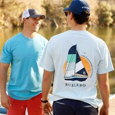 Dress your best this spring or summer with our brand new collection!! From fishing to sailing, from beachin' to lake living, we've got you covered! #BURLEBO #wildlyunited