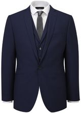 AR RED Nick Hart Blue Wool Jacket