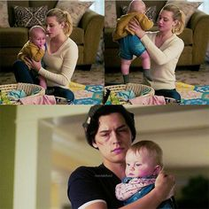 I bet JUGHEAD thinking about what Betty and his kids would look like