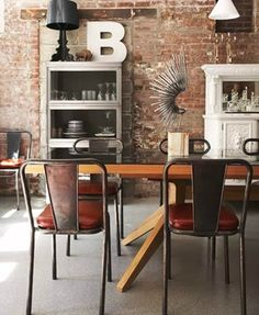 Always in love with industrial interiors