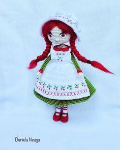 #cherry #cherrydoll #dolls #crochetdoll #amigurumidoll #