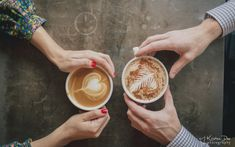 coffee shop engagements, winter engagements
