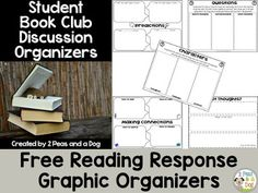 Help students stay focused and engaged on their reading material when these FREE graphic organizers are used. Add sticky notes to the mix for a ton more READING FUN!