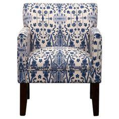 Addison Arm Chair Mumbai Blue