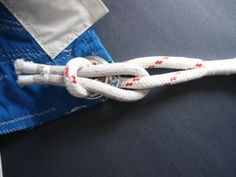 Use a soft shackle to attach jib sheets to the jib sail's clew for a lighter, softer, safer knot.: Pass the Smaller Loop Through the Jib Sheet Loop