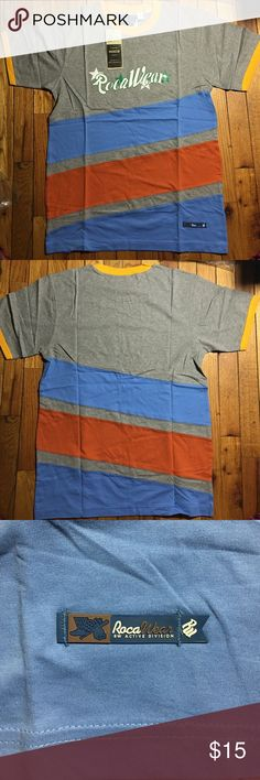 New Tee-Shirt. Men. Size M New Tee-Shirt. Rocawear inspired. Men. 100% Cotton. Machine wash warm. Size M Tops Tees - Short Sleeve