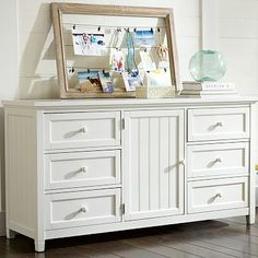 Beadboard Wide Dresser from PBteen. Saved to room. Shop more products from PBteen on Wanelo. Girls Bedroom Furniture, Teen Furniture, Bedroom Dressers, Colorful Furniture, Home Decor Furniture, Furniture Projects, Kids Bedroom, Bedroom Ideas, Master Bedroom