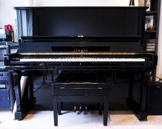 Yamaha U3 piano | Flickr - Photo Sharing!