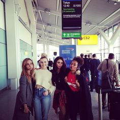 Little Mix in Japan