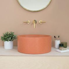 British brand Kast Concrete Basins has unveiled a new series of patterned sink basins called Kast Canvas that explore the possibilities of what concrete can offer with elegant surface patterns. Bathroom Furniture, Bathroom Interior, Bathroom Mural, Bathroom Basin, Bathroom Hardware, Washroom, Home Interior, Interior Decorating, Interior Design