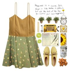 """""""Happiness is a choice, things in life make it difficult, but at the end of the day u control ur own happiness ♡♡"""" by preciouspearll ❤ liked on Polyvore featuring H&M, Toast, Casetify, Black Apple, Crate and Barrel, Moleskine and AERIN"""