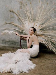 Jennifer Lawrence photographed by Tim Walker for W Magazine, October 2012