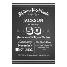 125 best 50th birthday party invitation images on pinterest 50 50th birthday party invitations adult birthday party invitation 50th 60th 40th filmwisefo