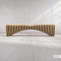 Bench B1 by ODESD2. Designer: Svyatoslav Zbroy.