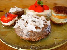 Roh-köstlicher Kuchenboden