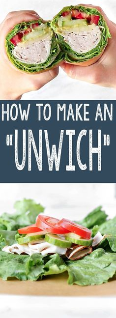 A step-by-step guide on How to Make a Lettuce Wrap Sandwich that won't fall apart. Perfect for low-carb, keto or diets. A step-by-step guide on How to Make a Lettuce Wrap Sandwich that won't fall apart. Perfect for low-carb, keto or diets. Low Carb Recipes, Whole Food Recipes, Diet Recipes, Healthy Recipes, Whole Food Diet, Sweets Recipes, Healthy Meals, Healthy Food, Clean Eating
